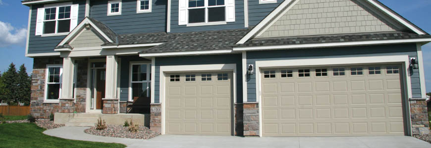 Forest Bay residential garage door.
