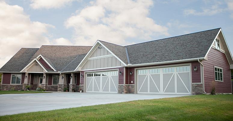 Special Reserve residential garage door.