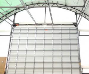 Commercial Ribbed Doors: 24 gauge interior
