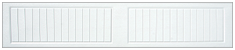 Raised Carriage Panel Long