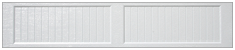Recessed Carriage Long